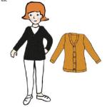MaM 2021-22 - Gilet femme en 100% laine merinos