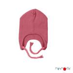 Manymonths 2021-22 - Bonnet Earflap Beanie en pure laine mérinos