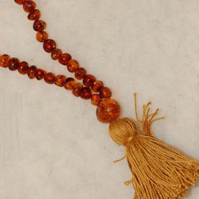 Colliers MALA  en ambre naturel