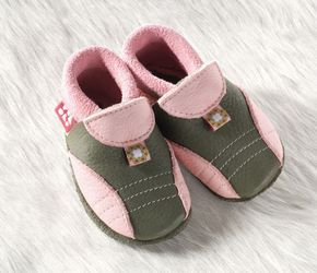 Racine Chausson Pololo SPORTY olive-rose