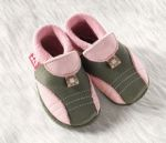 Racine/Chausson Pololo SPORTY olive-rose