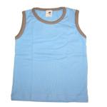 Racine/STORCHENKINDER - MARCEL – T-shirt sans manches BLEU CIEL en coton bio
