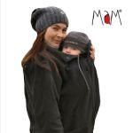 Vestes et manteaux MaM/MaM Two Way Jacket DELUXE – NOIR extérieur façon peau de pêche