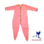 Racine/PYJAMA bébé en coton éponge gratté bio
