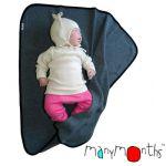 Racine/MANYMONTHS – COUVERTURE pour Bébé en laine mérinos