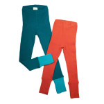 MANYMONTHS Collection LAINE/MANYMONTHS - LEGGINGS UNISEX pour enfants en pure laine mérinos