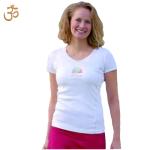 Racine/T-Shirt OM NAMASTÉ manches courtes
