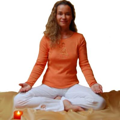 Racine T-Shirt BOUDDHA orange/terra