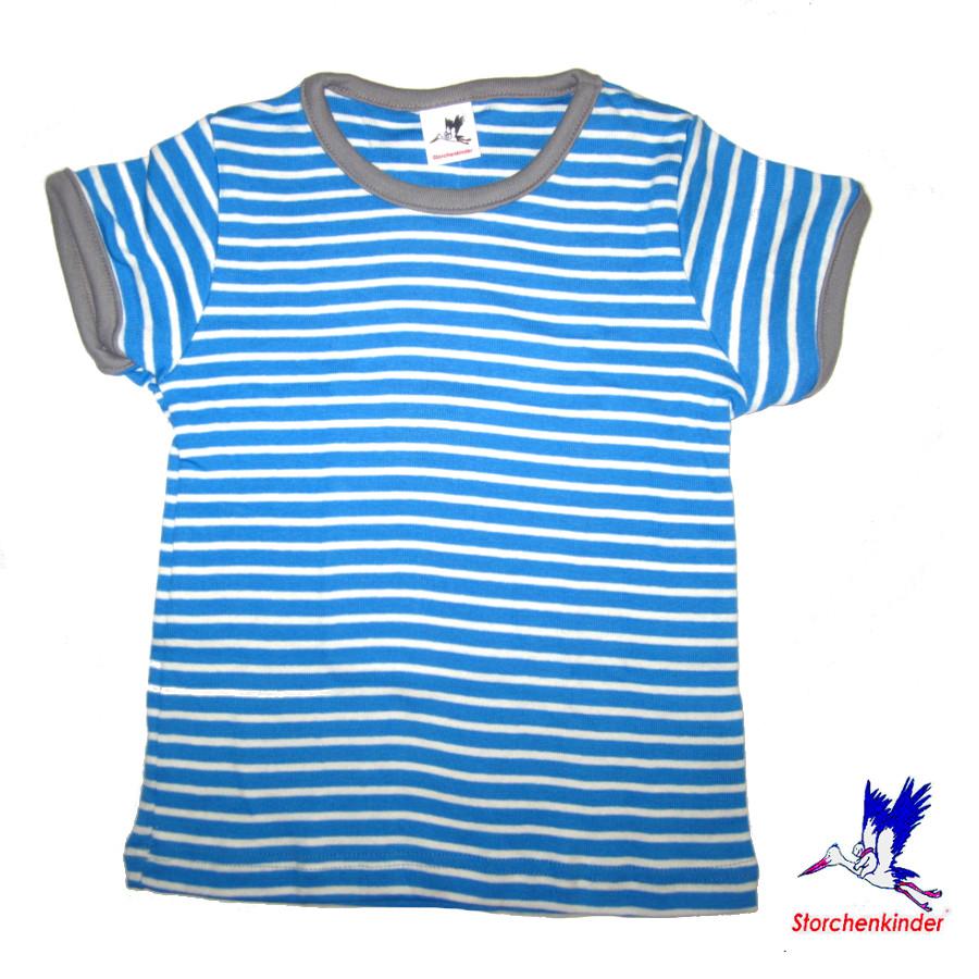 Racine T-Shirt à rayures BLEU en coton bio