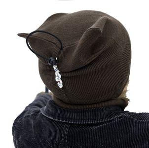 Laine 100% mérinos 2018-2019 MANYMONTHS - BEANIE - Bonnet évolutif et ajustable en pure laine mérinos