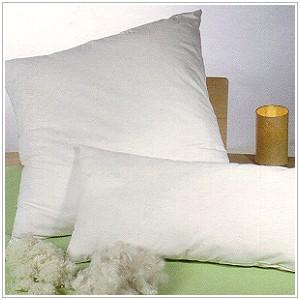 Racine OREILLER NATUREL BIO garnie de fibres de KAPOK