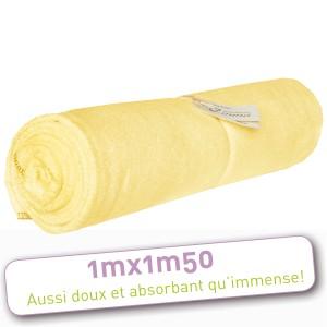 porte bonheur drap de bain bambou les tendances d 39 emma drap de bain 100 x 150 cm. Black Bedroom Furniture Sets. Home Design Ideas