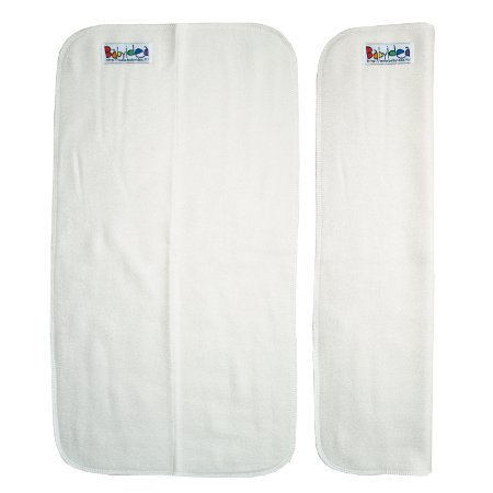 Couches lavables BAMBOO HOUR - INSERTS / DOUBLURES en bambou pour couches à poche