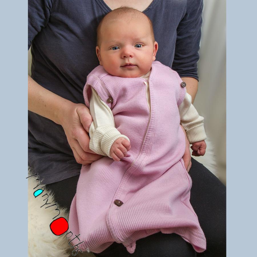 Idées Cadeaux MANYMONTHS – GIGOTEUSE COCON EVOLUTIVE en pure laine mérinos