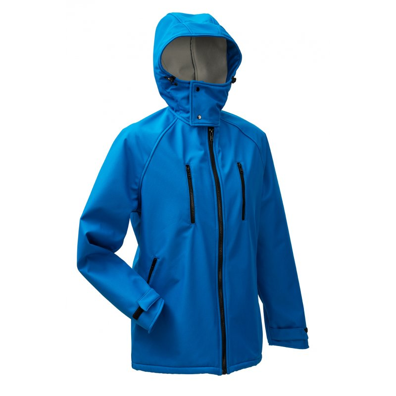 Vestes et manteaux MAMALILA outdoor MAMALILA - Veste de portage OUTDOOR Homme - SOFTSHELL BLEU