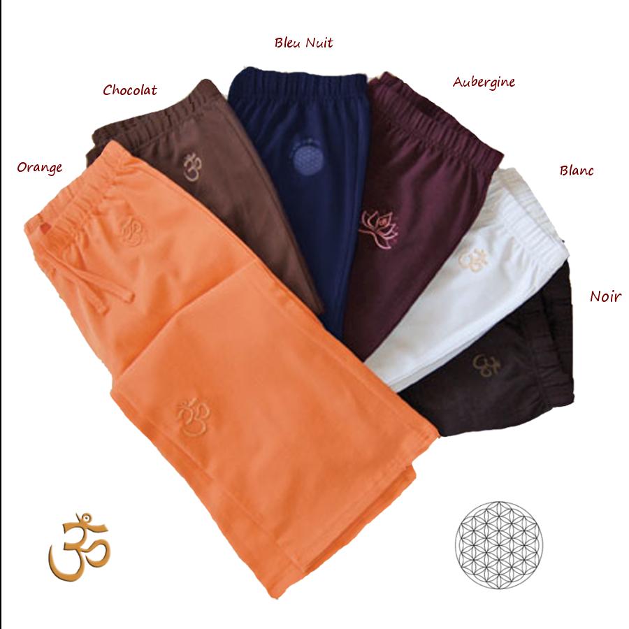 Pantalons PANTALON de yoga et bien-être NOIR