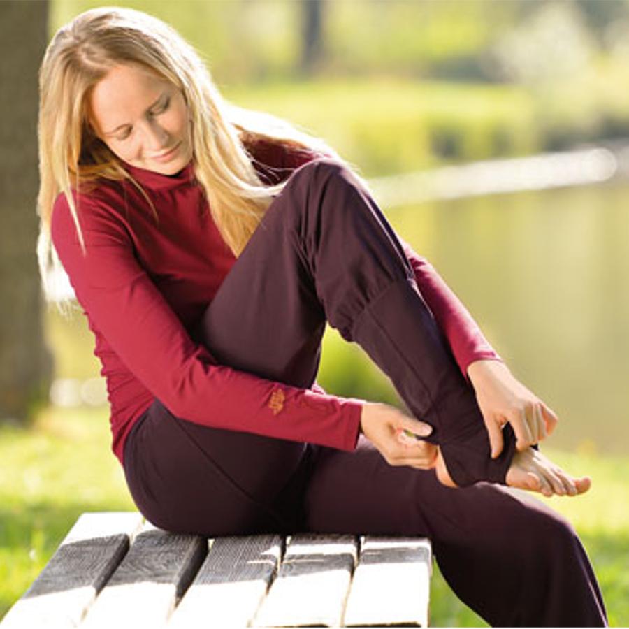 Racine Pantalon de Yoga ASANA – AUBERGINE