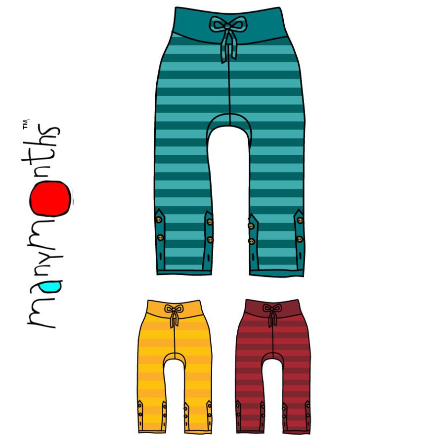 Pantalons et pantacourts MANYMONTHS – PANTALON AJUSTABLE en coton bio