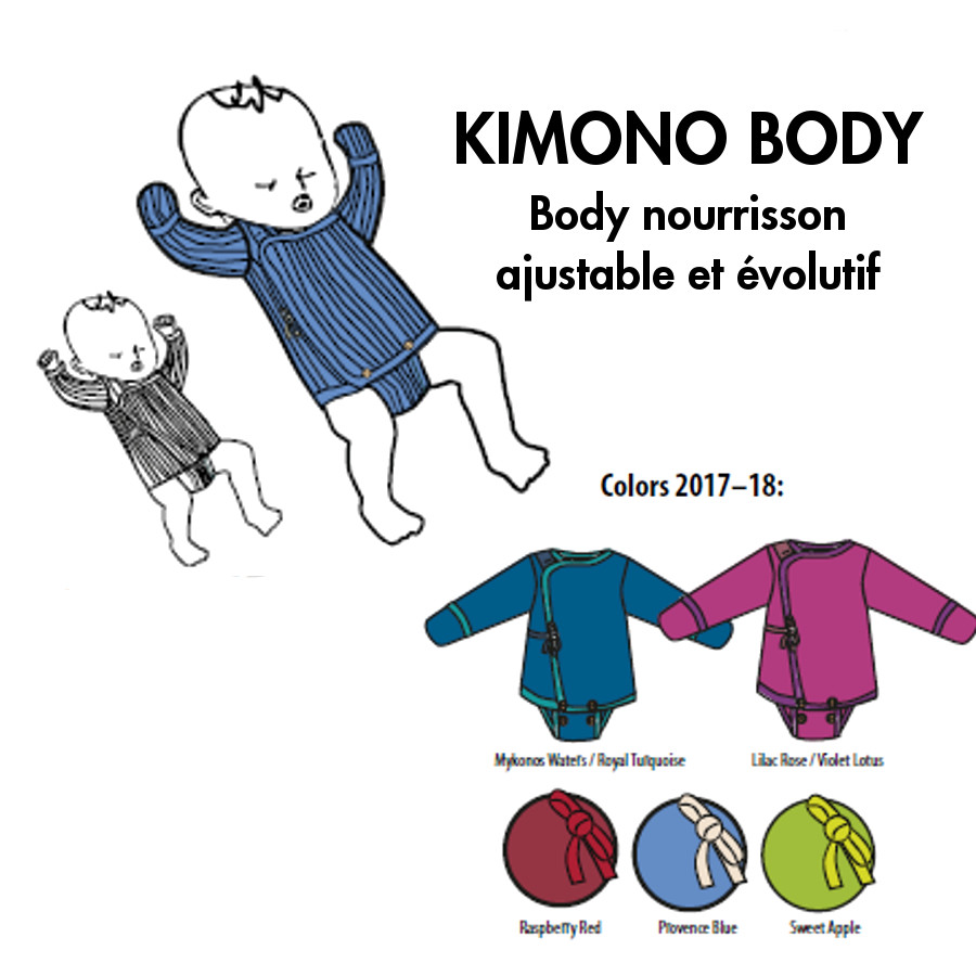 Racine MANYMONTHS – BODY KIMONO NOURRISSON