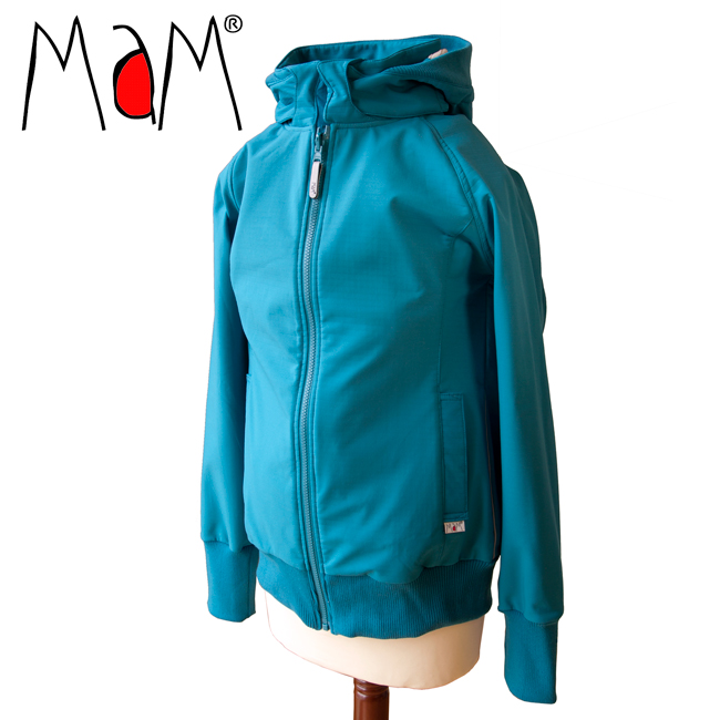 Vestes et manteaux MaM MaM SOFTSHELL JACKET - OCEAN WATERS