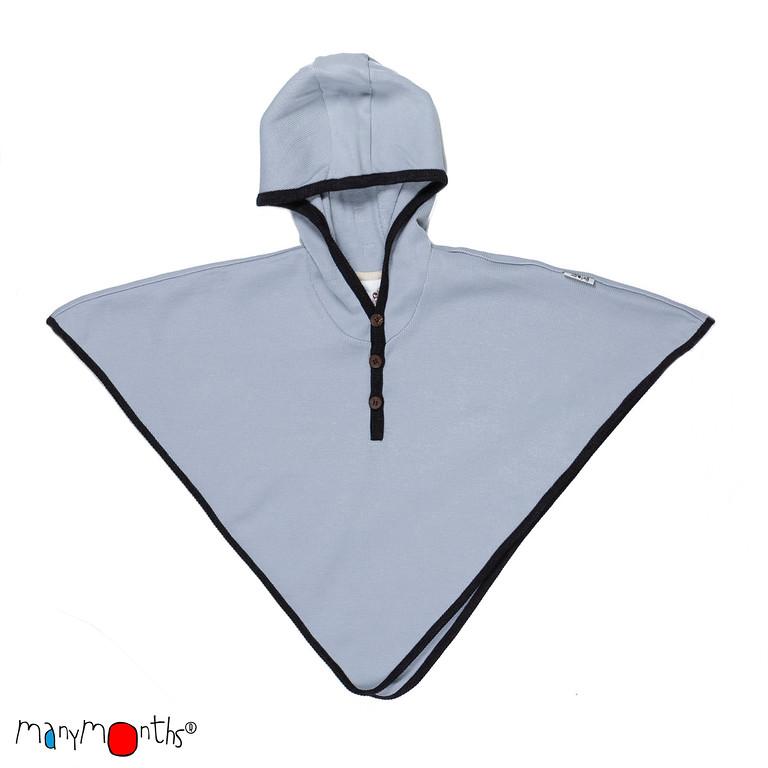 Laine 100% mérinos 2018-2019 MANYMONTHS 2018/19 – MULTI-CAPE avec capuche en pure laine mérinos