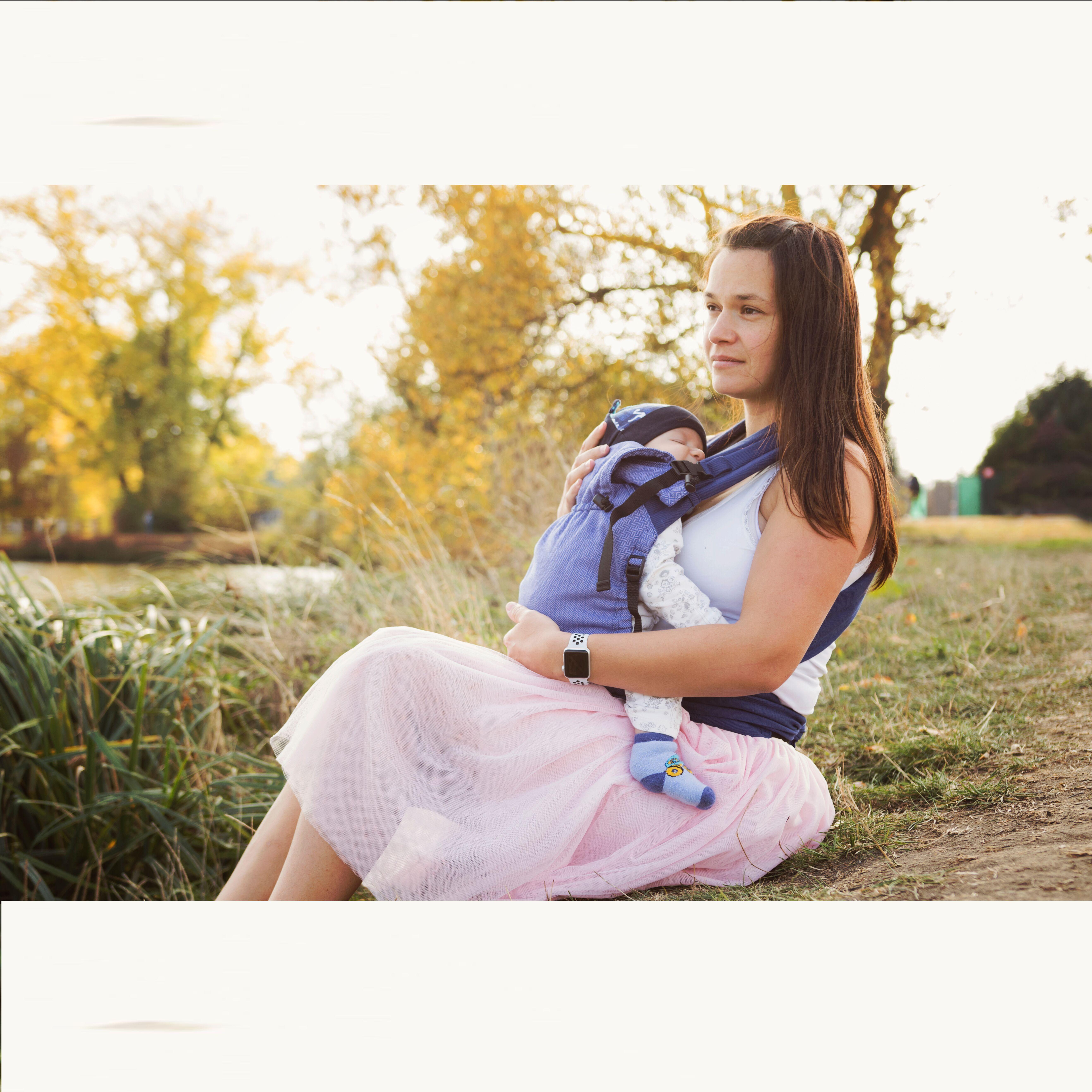 Babycarrier STORCHENWIEGE BABYCARRIER Storchenwiege Lilas (nouveau coloris)