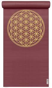 Tapis de yoga et massage YOGISTAR - Tapis de Yoga Mat Basic Fleur de vie