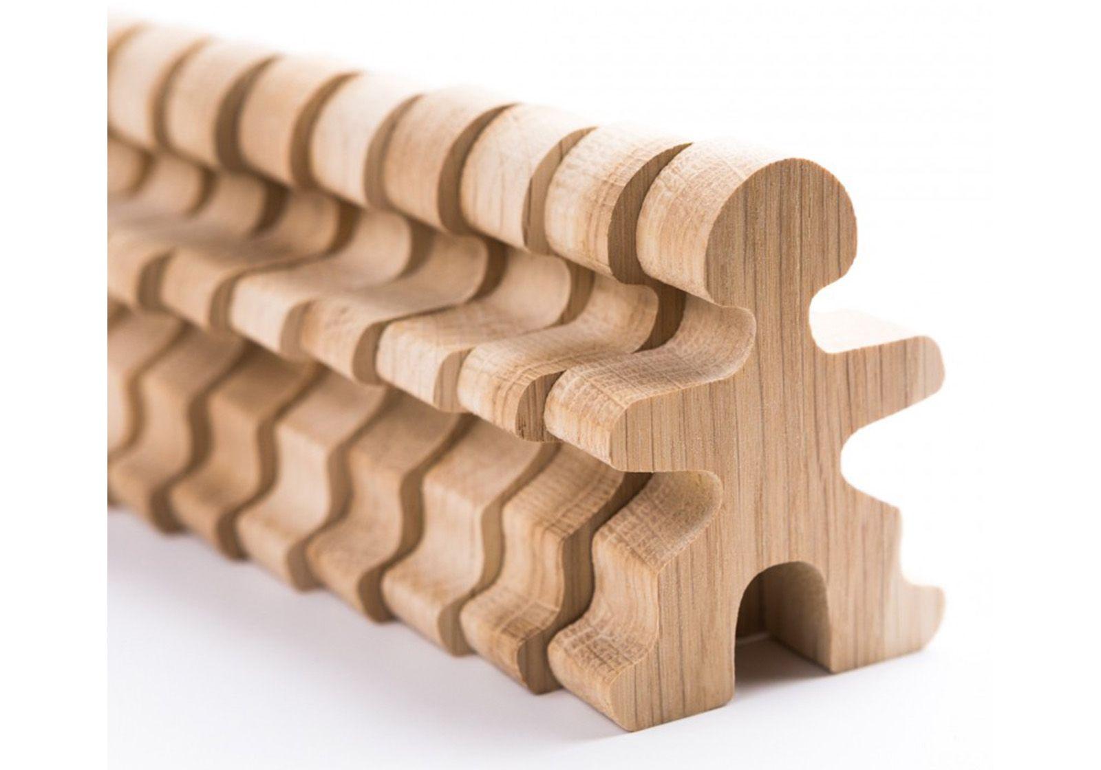 Jeux et Jouets Flockmen - Jouets en bois 16 ou 32 pcs