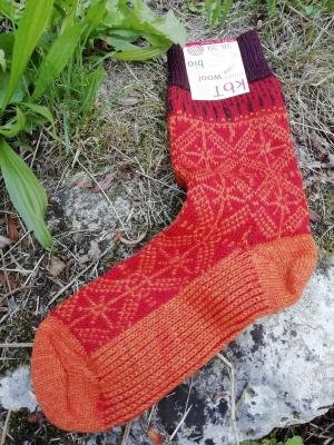 Chaussons en cuir souples, chaussettes, guêtres, jambières Hirsch 2019 - Chaussettes Adultes - pure laine mérinos bio