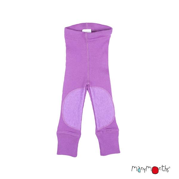 Laine 100% Mérinos 2020-21 MANYMONTHS 2020-21 - Leggings protèges genoux unisex pour enfants en pure laine mérinos