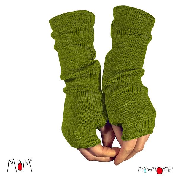 Vêtements MAM laine 2020-21 MaM 2020-21 - Natural Woollies - Mitaines  Longues pour Adultes en pure laine merinos