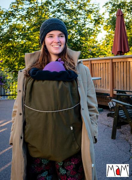 Couvertures de Portage MaM Deluxe - Couverture de portage réversible, chaude et waterproof