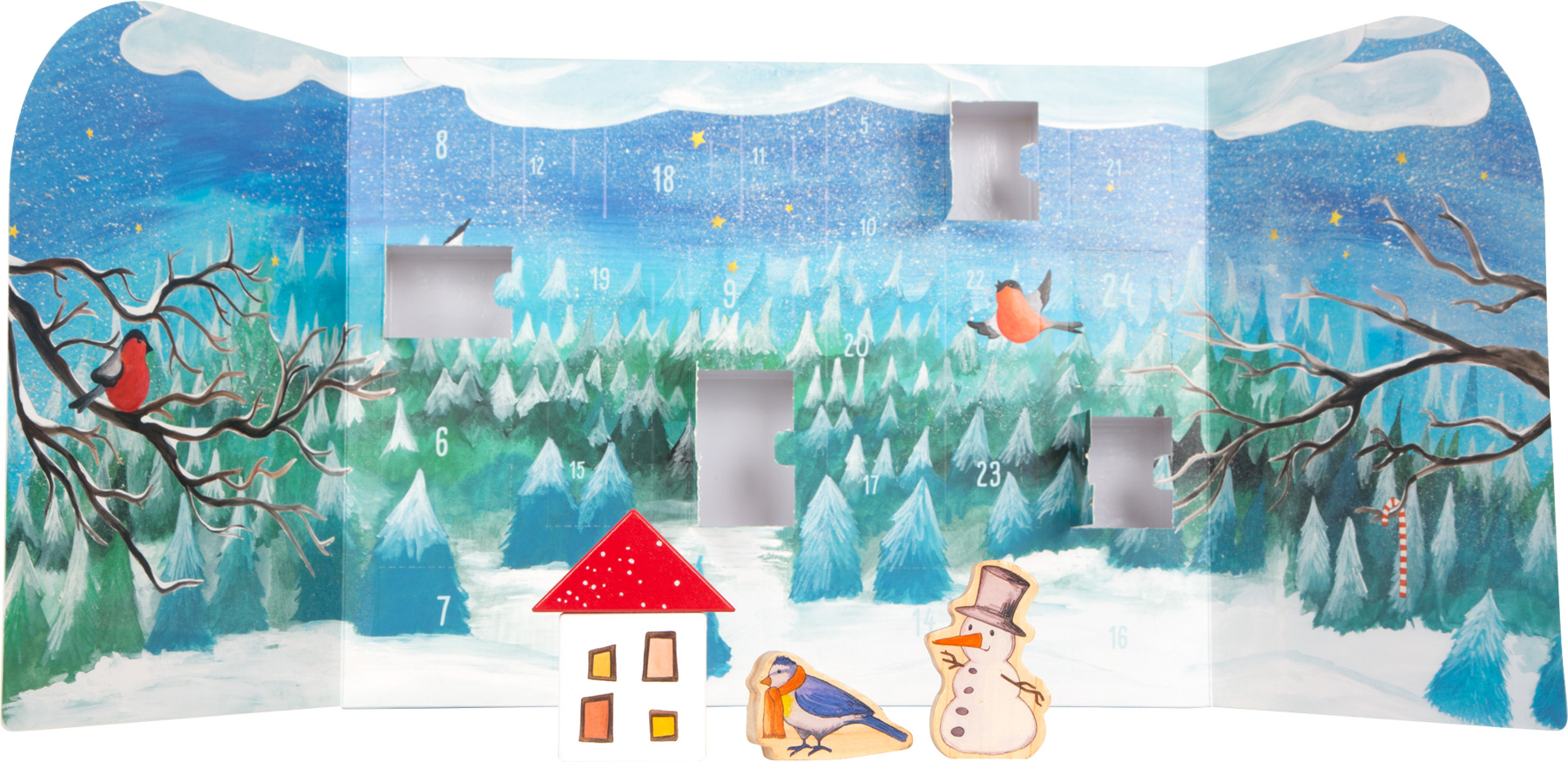 Coup de coeur Legler Noel 2020 - Calendrier de l'avant Forêt d'hiver
