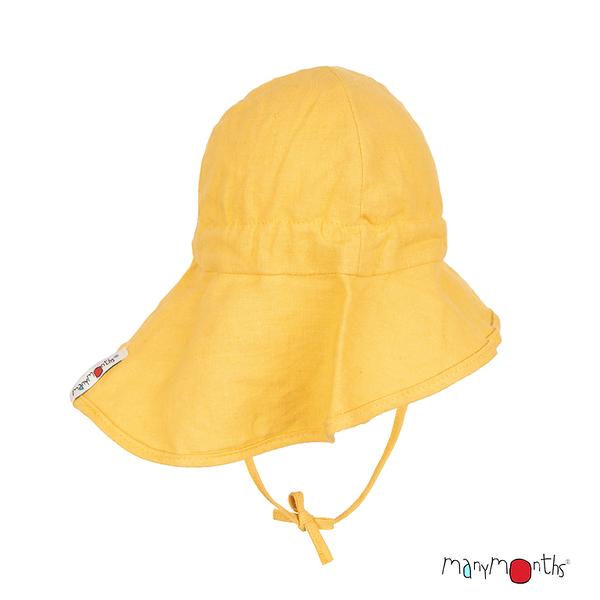 Eté 2021 - Chanvre et Coton bio Eté 2021 -  Chapeau de soleil  Ajustable Summer Hat Light Ice Mango