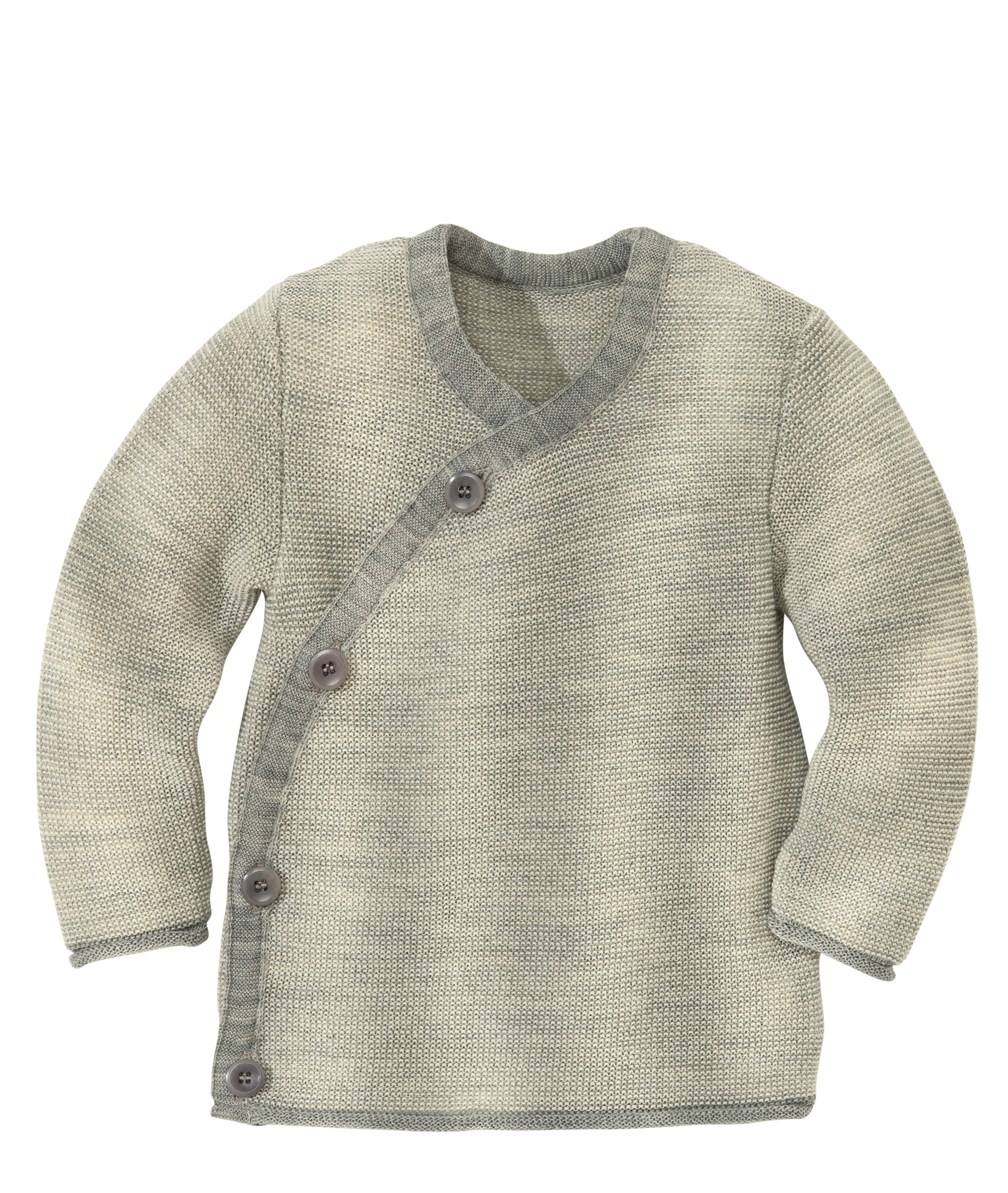Coup de coeur Disana 21 - Gilet cache coeur bébé 100% laine mérinos bio
