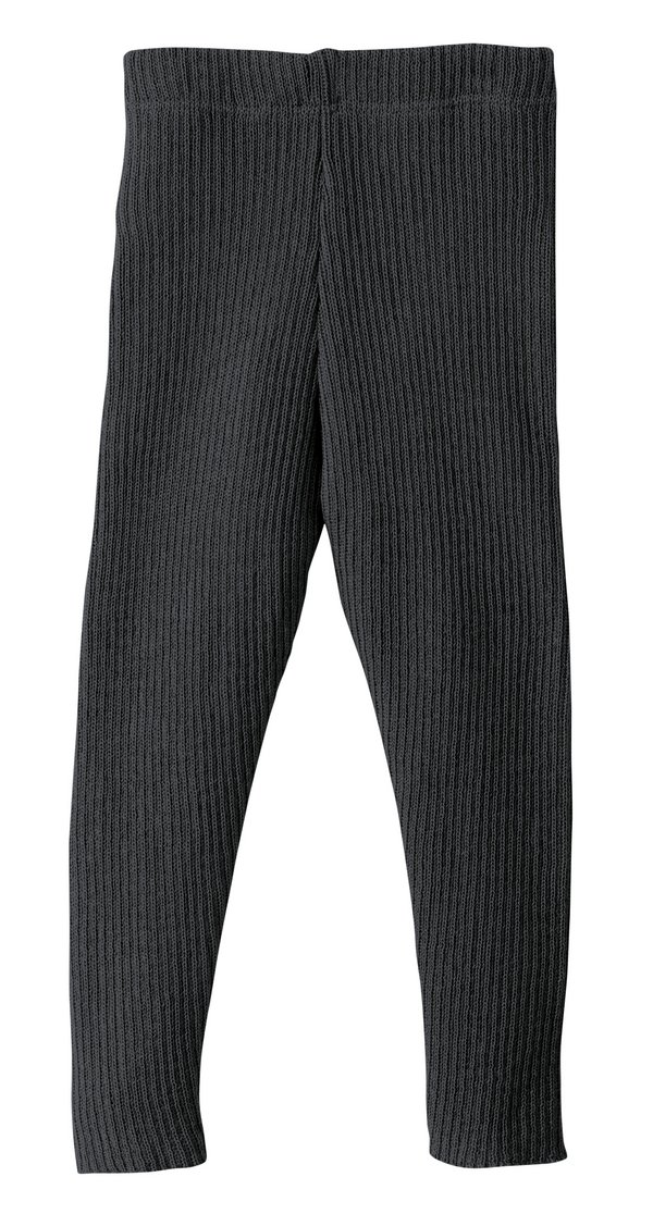 Coup de coeur Disana 21 - Leggings tricoté côtelé 100% laine mérinos bio
