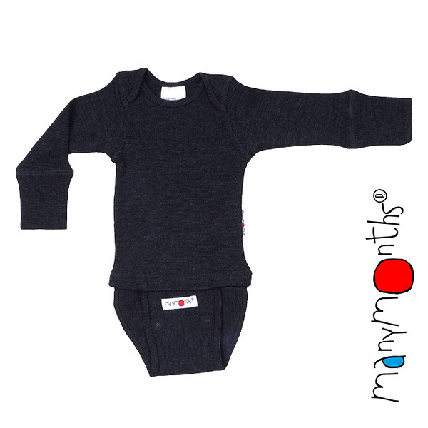 Débardeurs, T-shirts, pulls, gilets, multicapes et bodys Manymonths 2021-22 - Body/shirt évolutif et ajustable