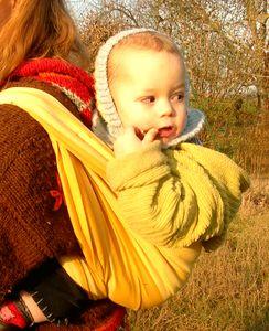 Echarpes porte-bébé STORCHENWIEGE Echarpe Storchenwiege VICKY