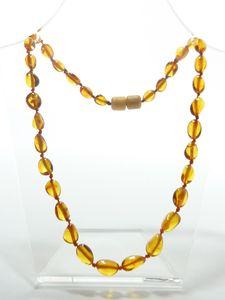 Racine Colliers d'ambre OLIVETTES pour BEBE