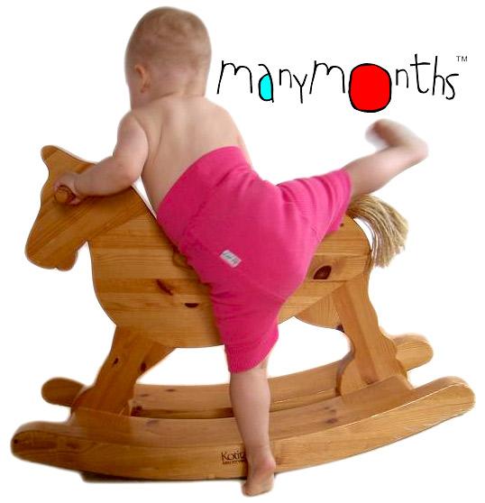 Culottes de protection MANYMONTHS – SHORTIES en pure laine mérinos
