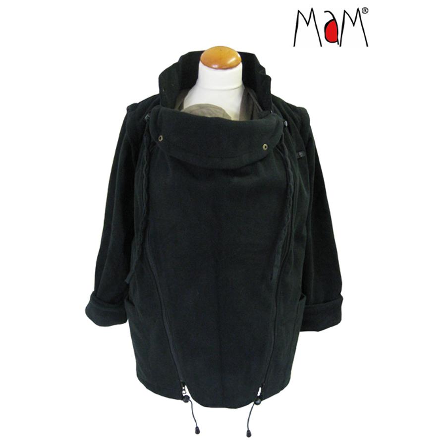 Vestes et manteaux MaM MaM Two Way Jacket DELUXE – NOIR extérieur façon peau de pêche