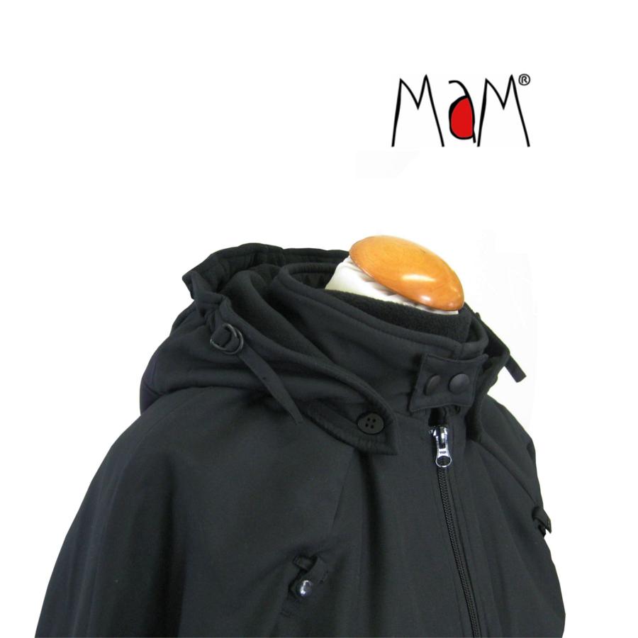 Col de portage MaM COAT – NOIR