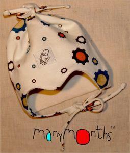 Bonnets hivers MANYMONTHS – BONNET Nourrisson en coton BIO