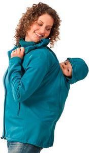 Destockage MAMALILA - Veste Turquoise été (fermeture éclair cachée)