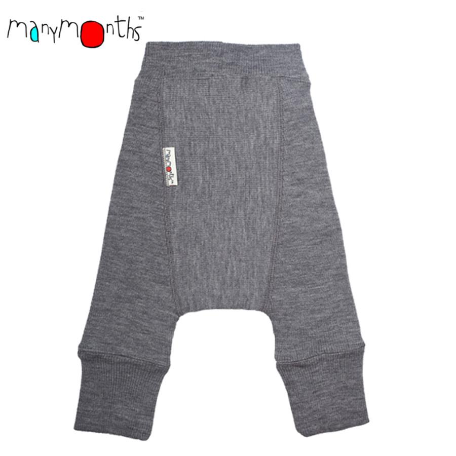Culottes de protection MANYMONTHS – LONGIES – pantalon bébé en pure laine mérinos
