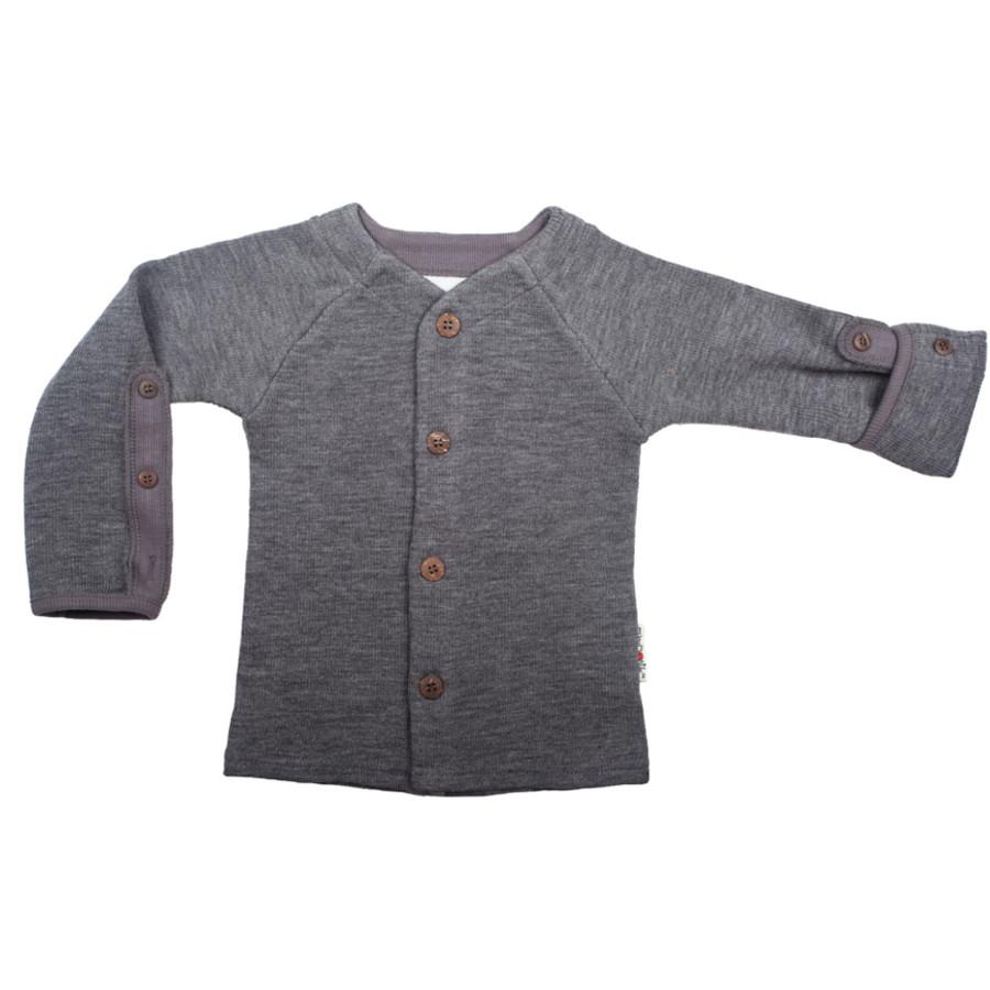 POLOLO KIGA - chaussons souples en cuir naturel avec semelle antidérappante (24-33) MANYMONTHS – GILET en pure laine mérinos