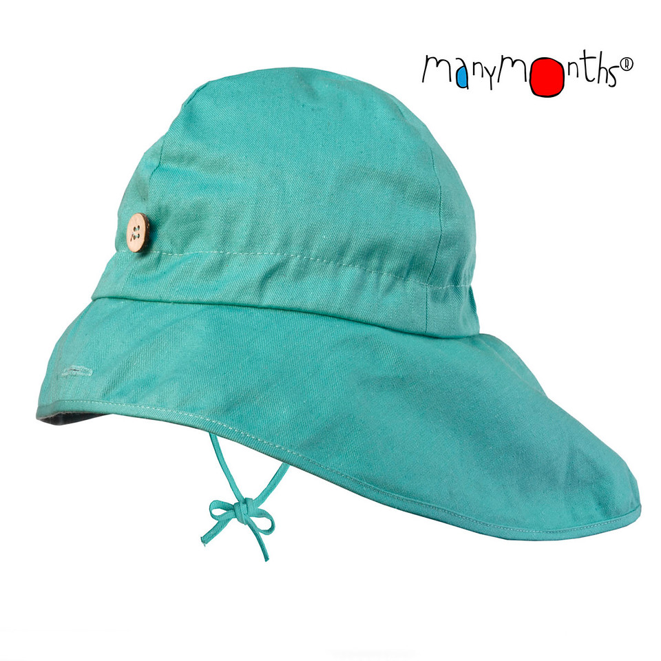 Coton Bio Ancienne Collection ManyMonths - CHAPEAU DE SOLEIL AJUSTABLE