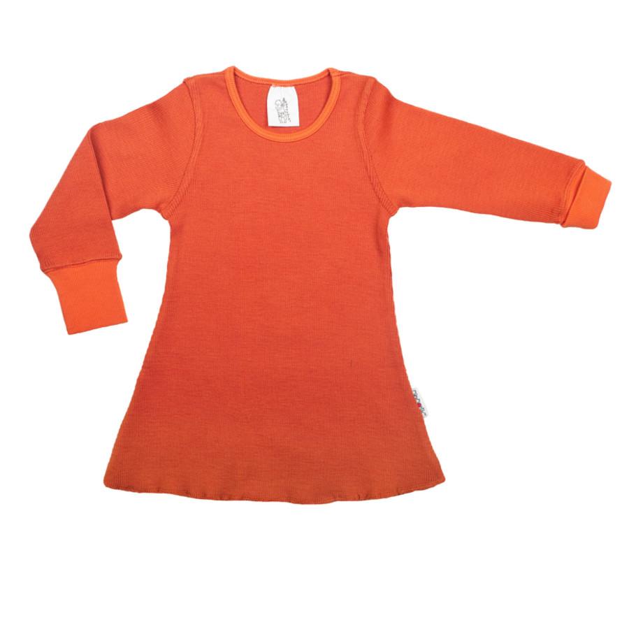 Racine MANYMONTHS – ROBE-TUNIQUE A MANCHES LONGUES en pure laine mérinos