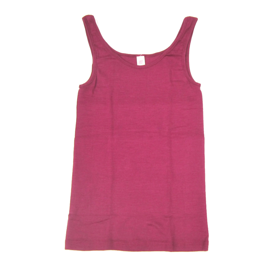 Vêtements et sous-vêtements laine et soie Engel Natur DEBARDEUR en laine/soie FEMME – ORCHIDEE
