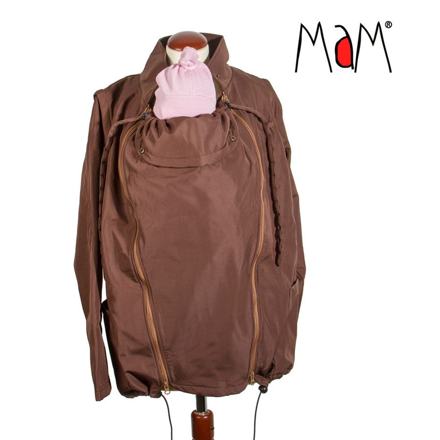 Racine MaM Two Way Jacket WENGE-NOISETTE – imperméable